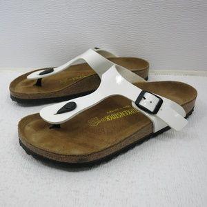 Birkenstock Birko-Flor Slide Sandals Shoes 38 L7